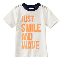 Smile and Wave Tee