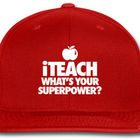 iTeach What's You Superpower snapback