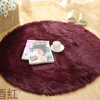 Top Finel Hot High Quality Floor Mats Modern Shaggy Round Rugs and Carpets for Living Room Bedroom Carpet  Rug for Home Yoga Mat