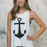 Anchor Draped Tank