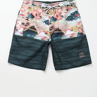 "Neff x Disney Pinocchio Monstro Hot Tub 19"" Boardshorts at PacSun.com"
