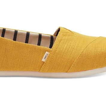 TOMS - Venice Collection Gold Fusion Heritage Canvas Women's Classics Slip-Ons