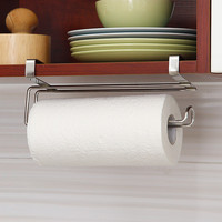 Stainless Steel Kitchen Tissue Holder Hanging Bathroom Toilet Roll Paper Holder Kitchen Paper Towel Holder