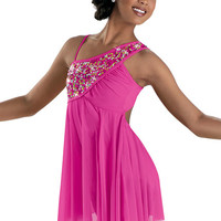 Sequined Mesh Lyrical Dress; Weissman Costumes