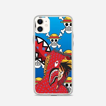 Luffy Bape iPhone 12 Case