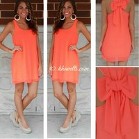 Casual Sundress Chiffon Plus Size