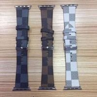 LOUIS VUITTON LV EMBOSS APPLE WATCH BAND