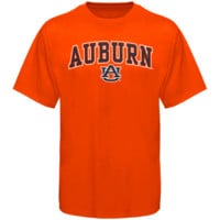 Auburn Tigers Arched University T-Shirt - Orange