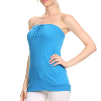 Cotton Knit Tube Top - Clearance