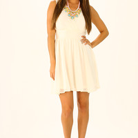 Your First Love Dress: Cream