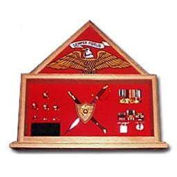 Military Shadow Box, Military flag and knife certificate, knife Case