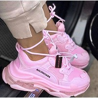 Balenciaga Triple S high-quality platform cushioned sneakers shoes