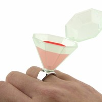 Wedding Ring Shot Glass