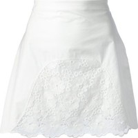 See By Chloé Embroidered Panel Skirt - Mohge & Maude - Farfetch.com