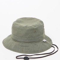 Neff Sand Bucket Hat - Womens Hat - Green - One
