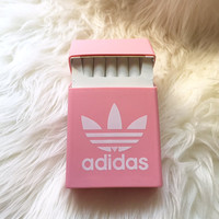 Rare PINK ADIDAS Silicon Cigarette Case / Cigarette dispenser