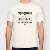 This is my Lightsaber (Vader Version) T-shirt by 6amcrisis