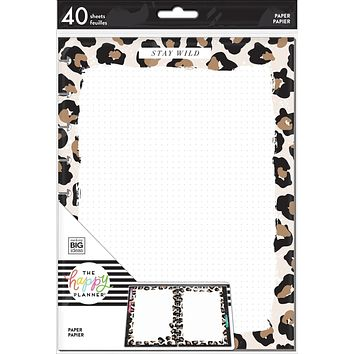 Classic Filler Paper - Leopard Wild Styled
