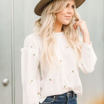 White Flower Top