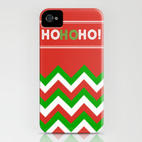 Color Blocked Chevron: Holiday 2 iPhone & iPod Case by Josrick
