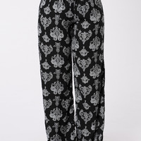 Tied To A Shallow Heart Pants - Astara Black