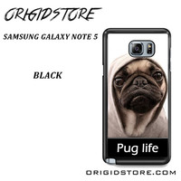 New Design Funny Hilarious Pug Life Parody Fans For Samsung Galaxy Note 5 Case Please Make Sure Your Device With Message Case UY
