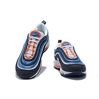 DCCK Nike Air Max blue white orange 97 40-46