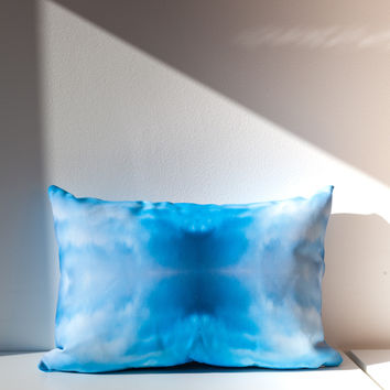 Clouds Throw Pillow by elise flashman