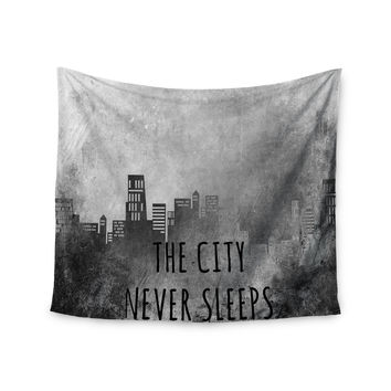 """Alison Coxon """"The City Never Sleeps"""" Wall Tapestry"""