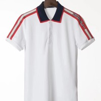 NEW 100% Authentic gucci 2018ss classic polo t shirt 5 color  ※029