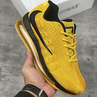 Nike Air Max 95-720 Men's Air Cushion Personalized Barbed Sports Running Shoes