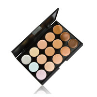 5 Colors Neutral Makeup Eyeshadow Camouflage Facial Concealer Palettes Matte Eye Shadow
