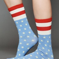 Free People Americana Ankle Sock