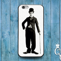 iPhone 4 4s 5 5s 5c 6 6s plus + iPod Touch 4th 5th 6th Generation Cute Funny Classic 1900s Cool Black White Charlie Chaplin Phone Cover Case