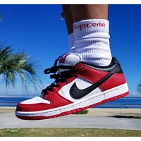 """Nike SB Dunk Low """"Chicago"""" low-top sneakers shoes"""
