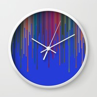 vosak Wall Clock by Trebam | Society6