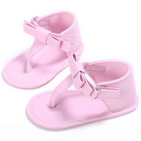 Princess Newborn & Toddler Girls  Bow knot Crib Shoes