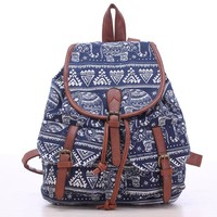 Back To School On Sale Stylish College Comfort Hot Deal Vintage Ladies Casual Backpack [8070741895]