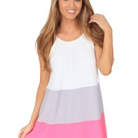 Without You Here Dress in Pink | Monday Dress Boutique