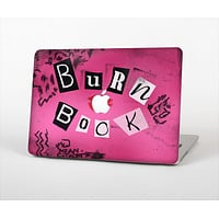 The Burn Book Pink Skin Set for the Apple MacBook Air 13""