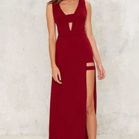 Twilight Zone Cut-Out Dress