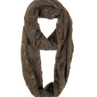 Modadorn Solid Infinity Fur Scarf Women's Fashion, Clothing & Accessories