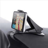 Universal Car Dashboard Holder Stand Clip Smartphone Car Holder Mobile Phone Accessories Cell Phone Stand Adjustable Clip