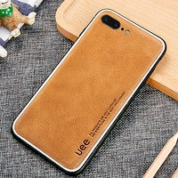 Leather Fashion iPhone Phone Cover Case For iphone 6 6s 6plus 6s-plus 7 7plus 8 8plus iPhone X XR XS XS MAX