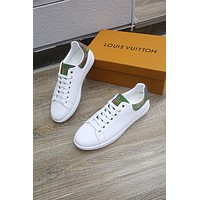 lv louis vuitton men fashion boots fashionable casual leather breathable sneakers running shoes 654