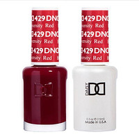DND - Gel & Lacquer - Boston University Red - #429