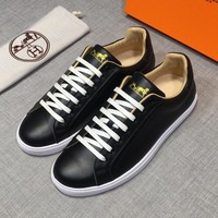 HERMES Men or Woman Fashion Casual Shoes Flats Shoes