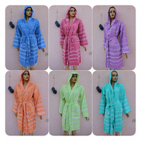 Bridesmaid Robes Set Bridesmaid Kimono  Lightweight Bathrobe Bachelorette Robe READY To SHiP Wedding Bath Robe EXPRESS SHiPPiNG Via UPS