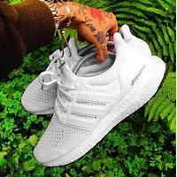 Adidas Ultra Boost Ub Fashion New Women Men Fashion Edgy Sneakers Running Sport Shoes