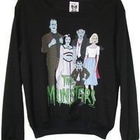 The Munsters Comic Illustration Jumper
